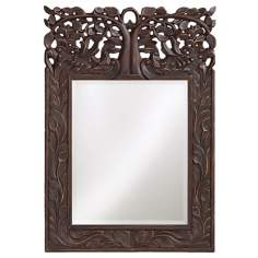 "Live Oak 25"" High Wall Mirror"