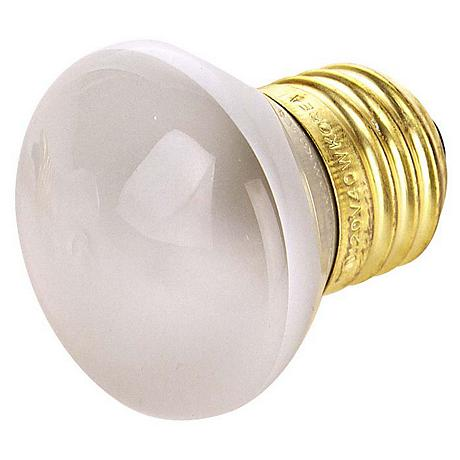 R14 40 Watt Standard Base Stubby Incandescent Light Bulb