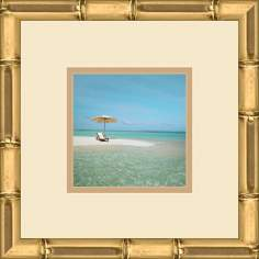"Paradise Cove D 13"" Square Wall Art"