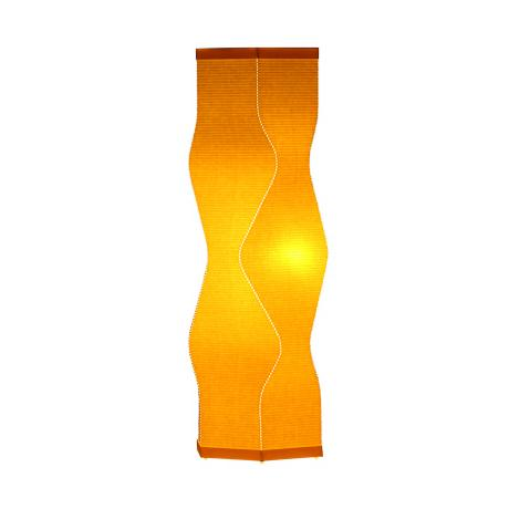Roland Simmons Lumalight Angle Canary Yellow Table Lamp