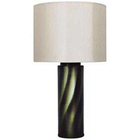 Babette Holland Tiger Green Table Lamp