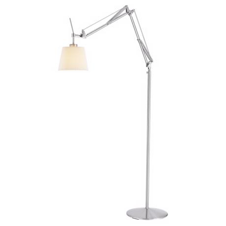 Bloomfield Satin Steel Floor Lamp