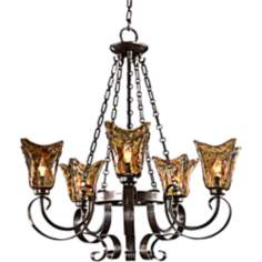Uttermost Vetraio Collection Five Light Chandelier