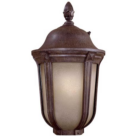"Ardmore 19"" High Vintage Rust Outdoor Lantern"