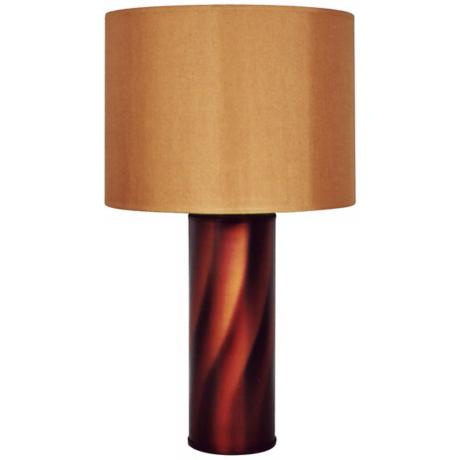 Babette Holland Tiger Rust Table Lamp