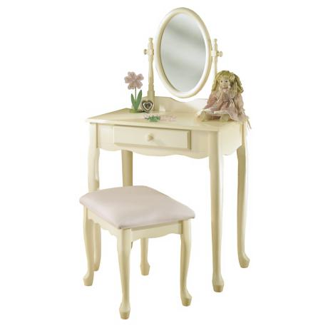 Mirrored Vanity Set