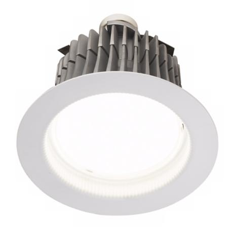 "6"" LED Recessed Lighting Retrofit Trim GU24 Base"