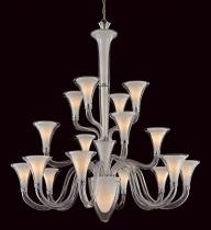 San Nicolo Glass Chandelier