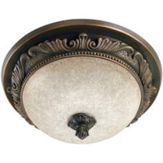 Hunter Bronze Aventine Bathroom Fan Night Light