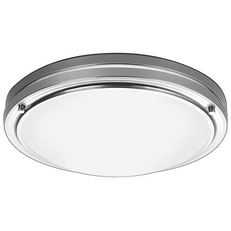 "Forecast Satin Nickel 13 1/2"" Wide Ceiling Light Fixture"