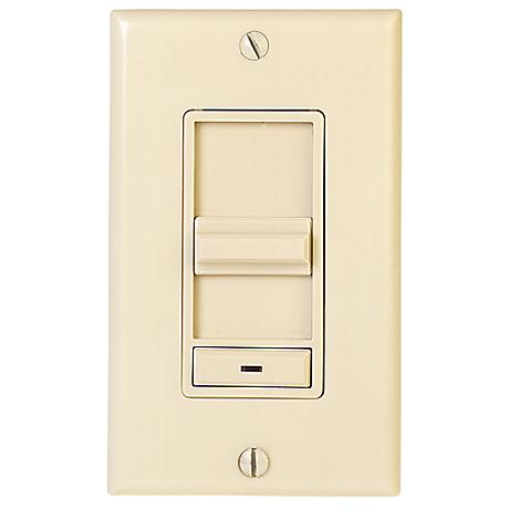 Lightolier 600 Watt Ivory Finish Dimmer Switch