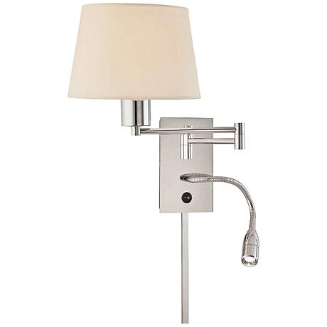 George Kovacs Multi-Function II Plug-In Swing Arm Wall Light