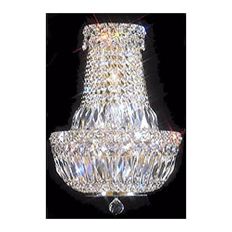 "James R. Moder 15"" High Crystal Wall Sconce"