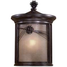 "Abbey Lane 19"" Pine Cone Outdoor Wall Lantern"