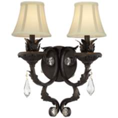 Kathy Ireland Ramas de Luces Double Wall Sconce