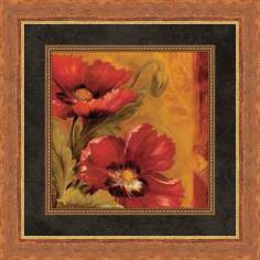 "Pandora's Bouquet A 19 1/2"" Square Wall Art"