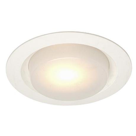 "Juno 6"" Drop Opal Shower Recessed Light Trim"