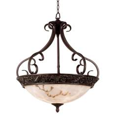 Apollo Collection Four Light Pendant Chandelier