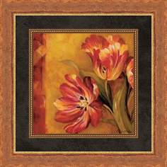 "Pandora's Bouquet B 19 1/2"" Square Wall Art"