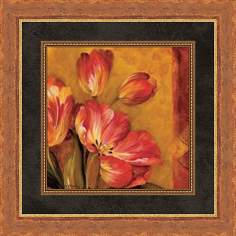 "Pandora's Bouquet C 19 1/2"" Square Wall Art"