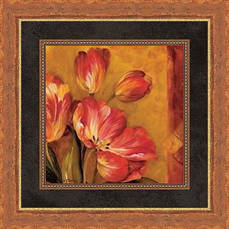 "Pandora's Bouquet Study III 19 1/2"" Square Wall Art"