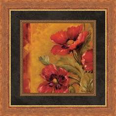 "Pandora's Bouquet D 19 1/2"" Square Wall Art"