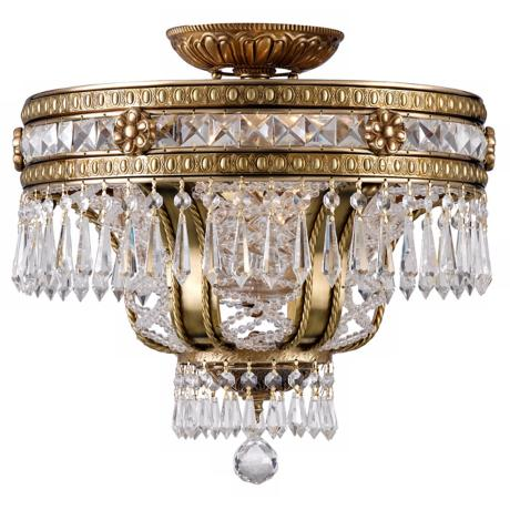 "Seville Lead  16 1/2"" High Ceiling Fixture"