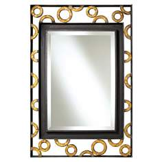 "Uttermost Zaid Hand Forged 37"" High Wall Mirror"