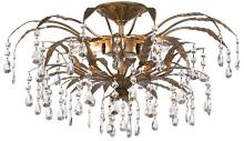 "Kathy Ireland 21"" Wide French Garden Ceiling Light Fixture"
