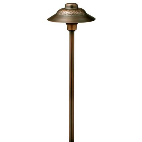 "Hinkley Olde Copper Essence 16 3/4"" Low Voltage Path Light"