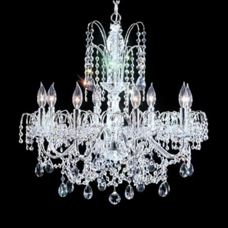 "James R. Moder 25"" Wide Lunar Collection Chandelier"