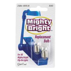 Mighty Bright 2-Pack Replacement Light Bulbs