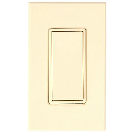 Lightolier Sunrise Remote Ivory Dimmer Switch