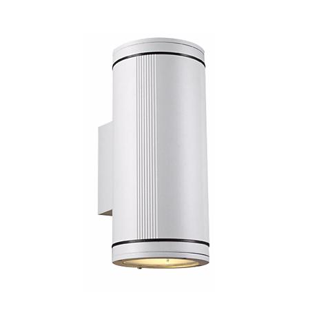 Meridian Up-Down White Outdoor Wall Light