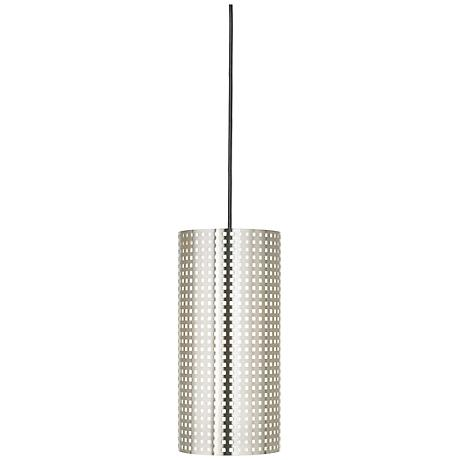 George Kovacs Grid Collection Perforated Pendant Chandelier