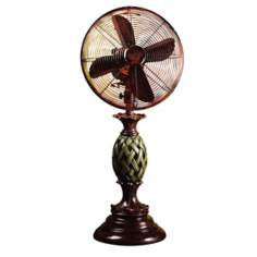 "12"" Hawaiian Paradiso Tabletop Desk Fan"
