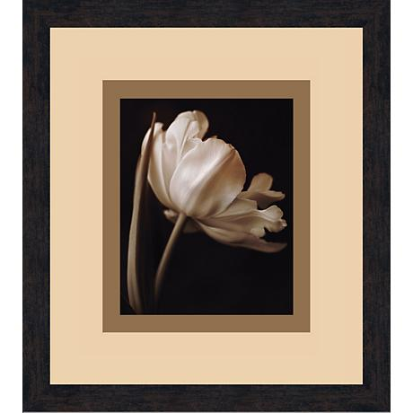 "Champagne Tulip A 18 1/2"" High Wall Art"