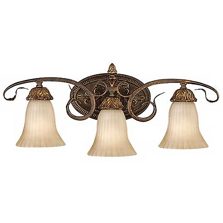 "Feiss Sonoma Valley 25"" Wide Three Light Wall Sconce"