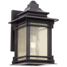 "Franklin Iron Works™ Hickory Point 12"" High Outdoor Light"