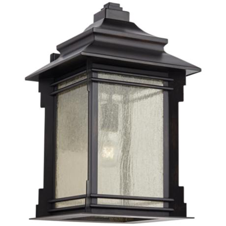"Franklin Iron Works Hickory Point 19"" High Outdoor  Light"