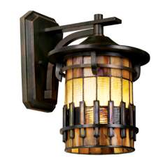 "Autumn Ridge 13"" High Outdoor Wall Light"
