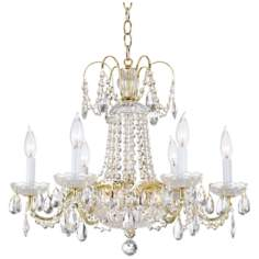 Schonbek LaBelle Twelve Light Crystal Chandelier