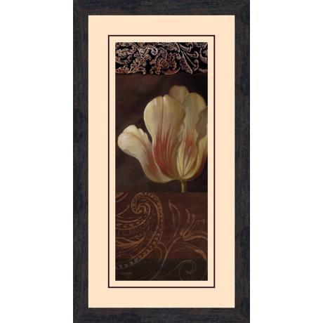 "Sunlit Calla Lily B 26 1/2"" High Wall Art"