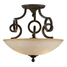"Getalo Collection 20"" Wide Diameter Ceiling Light Fixture"