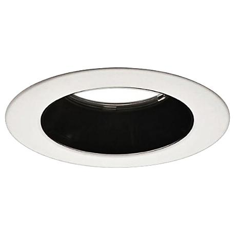 "Cree LT4 Black Diffuser 4"" Moderate Recessed Trim for LR4"