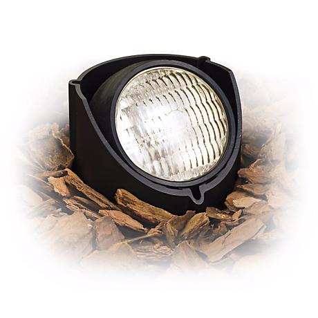Kichler Black 50 Watt Outdoor Well Light