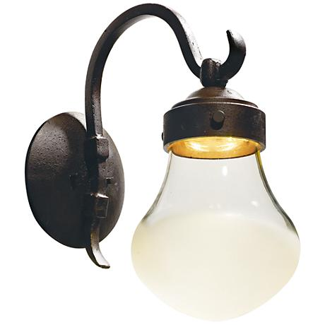 "Maxim Rustica 16 1/4""H Rustic Bronze LED Outdoor Wall Light"