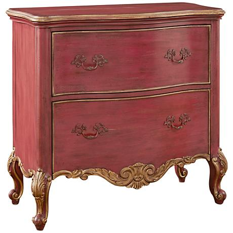 Pulaski Sharone Red 4-Drawer Accent Chest
