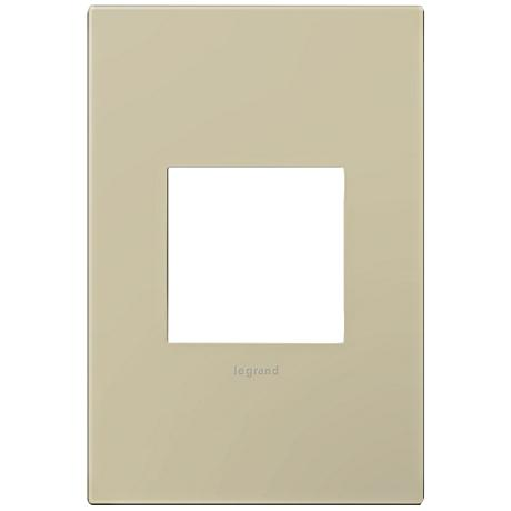 Adorne Ashen Tan 1-Gang Snap-On Wall Plate