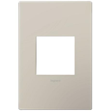 Adorne Greige 1-Gang Snap-On Wall Plate